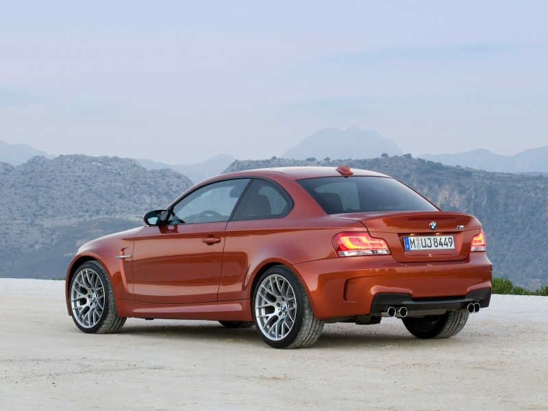 Photo présentation officielle + essais  BMW 1 M E82-2011 1110