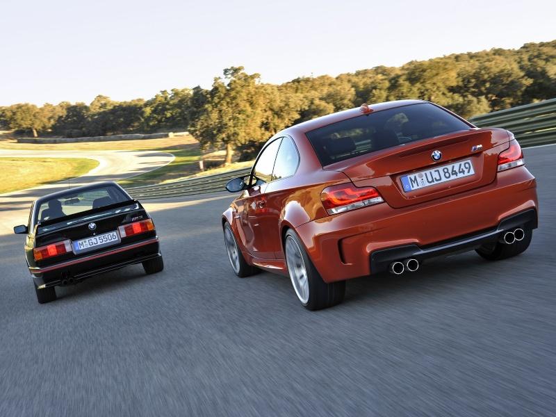 Photo présentation officielle + essais  BMW 1 M E82-2011 1310