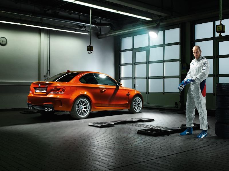 Photo présentation officielle + essais  BMW 1 M E82-2011 610