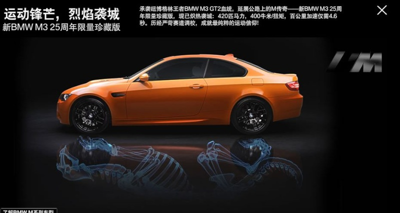 BMW M3 E92 Tiger édition 2010. China Market. Tiger10