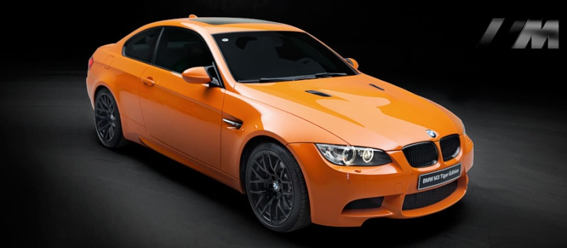 BMW M3 E92 Tiger édition 2010. China Market. Tiger410