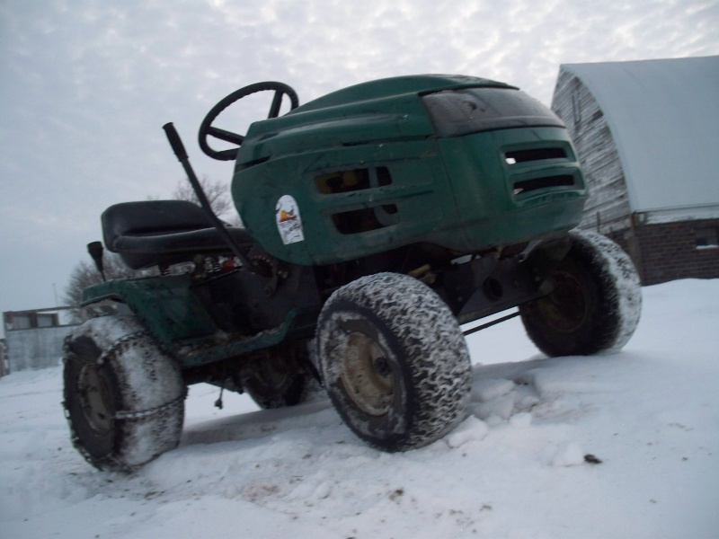 Green Monster Biuld Lawnmo12