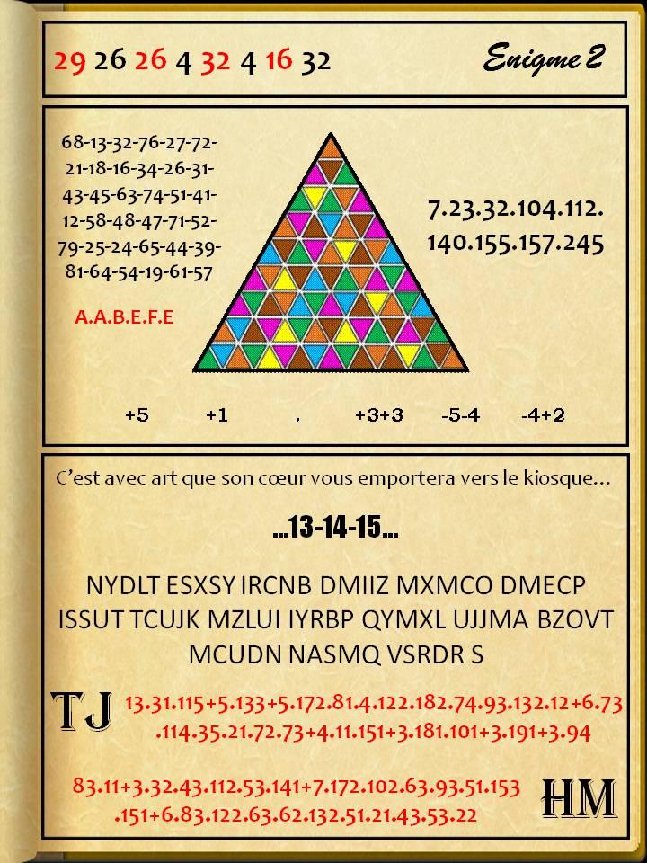 Enigme 2 - résolue E2_val10
