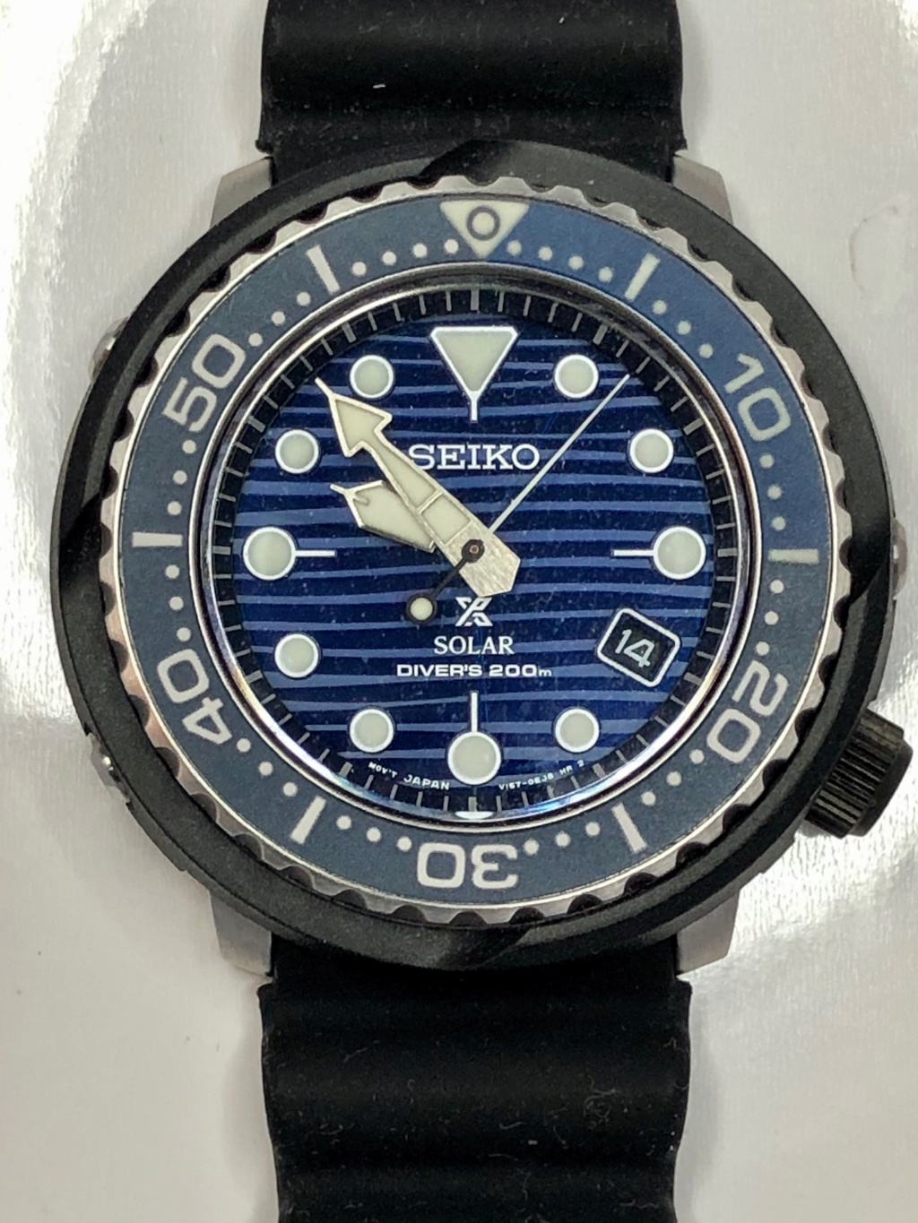 Ocean - [Vends] Seiko Baby Tuna Solaire Save the Ocean's 9af69810