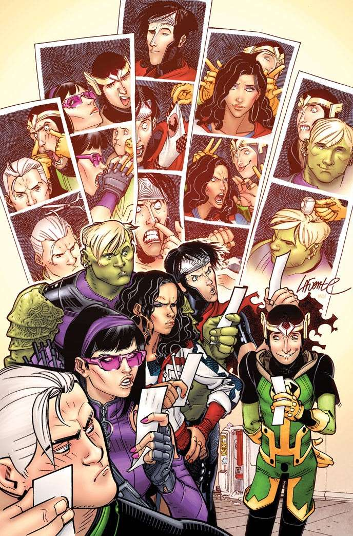 Young Avengers #2 13643310