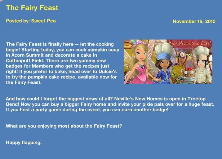 The Fairy Feast November 18, 2010 News13