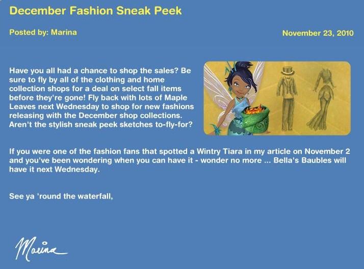 December Fashion sneak peek News14
