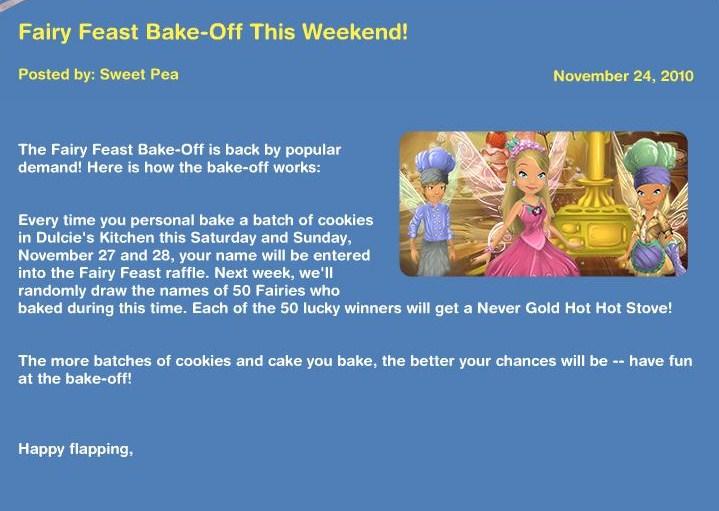 Fairy Feast Bake-Off! News15