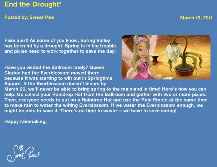End the Drought! News20