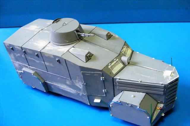 scratch camion blidado ebro no2  (armoured lorry/bus) B1_110