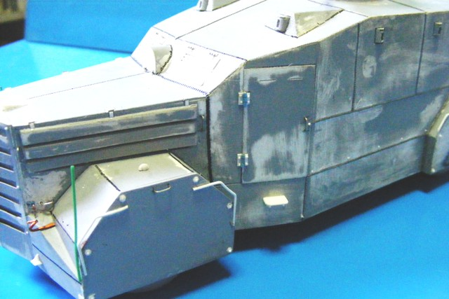 scratch camion blidado ebro no2  (armoured lorry/bus) B1_510