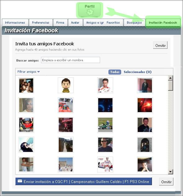 CGC Facebook Connect Invifb10