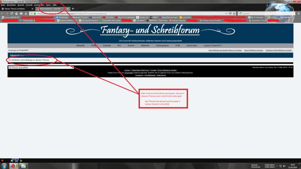 Email-Benachrichtigung verweist auf nicht existente Seite Fehlve11