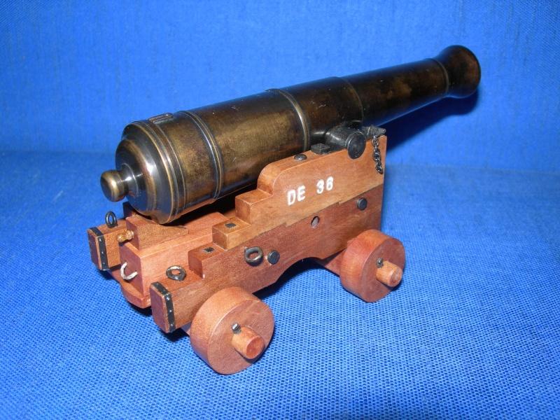 Poste de combat du canon de 36 du V74 canons, echelle 1:24 Dscn4124