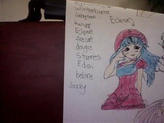 Pangya stuff drawings!!! By - Jazzy <3 Image127