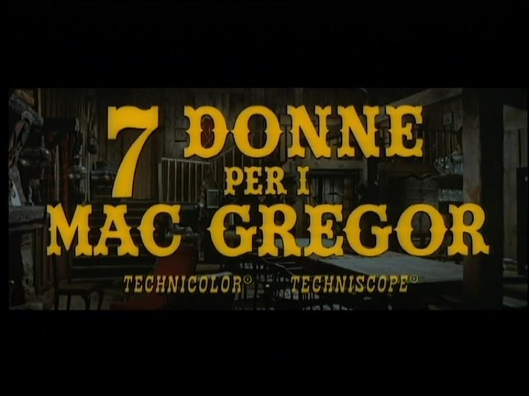 Les 7 écossais explosent - Sette donne per i McGregor - Franco Giraldi - 1966 Pdvd_319