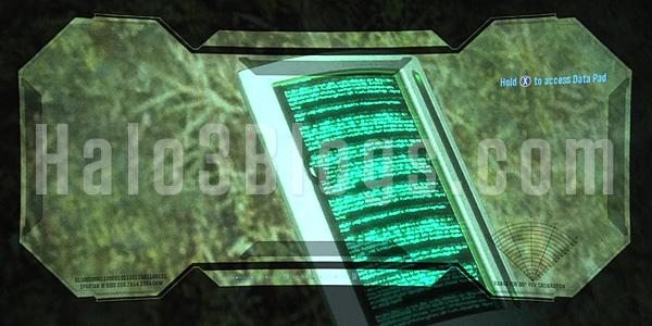 Halo Reach: les Datapads Data-p12