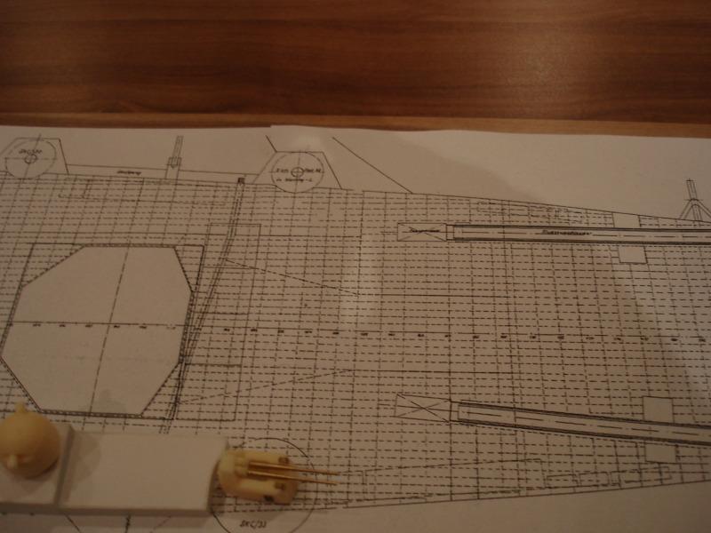 Umbau Seydlitz zum Flugzeugträger Weser Maßstab 1:200 We1510