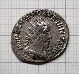 Monnaie de Volusien ..... Collection Esugenos Dsc04115