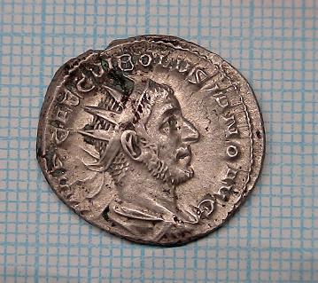 Monnaie de Volusien ..... Collection Esugenos Volusi10