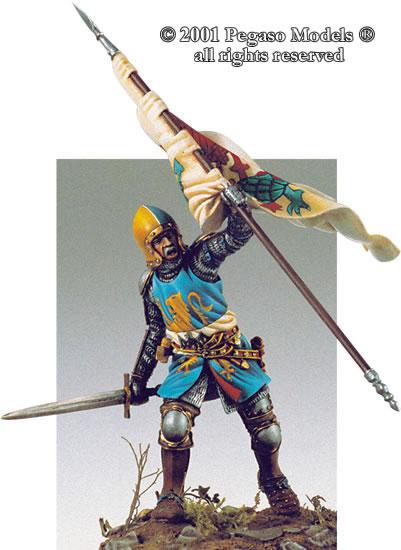 Chevalier Italien XIV ème 54-09710