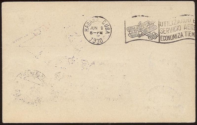 nach - Südamerikafahrt 1930, Post nach Lakehurst - Seite 2 57_nn_11