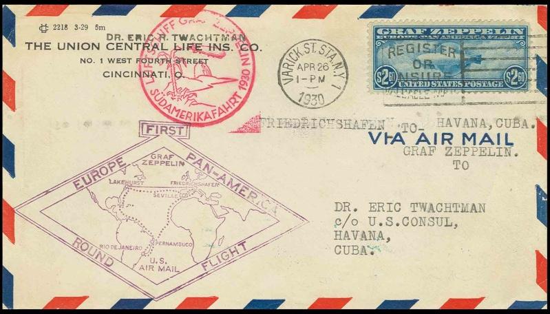 nach - Südamerikafahrt 1930, Post nach Lakehurst - Seite 2 64_c_h10