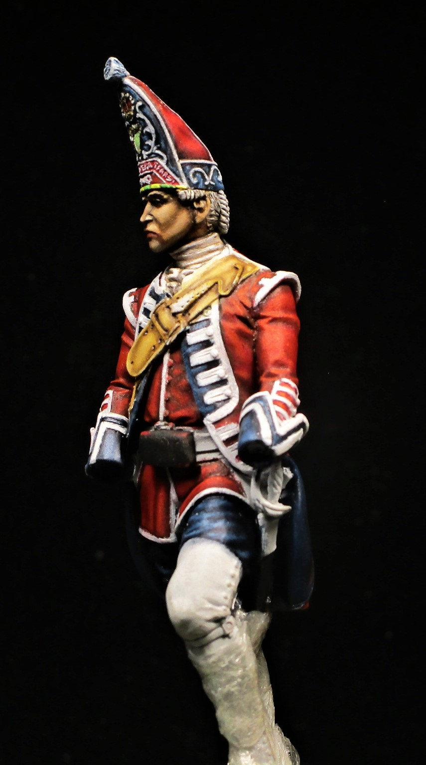 grenadier anglais du 18th Foot en 1751 Img_1111