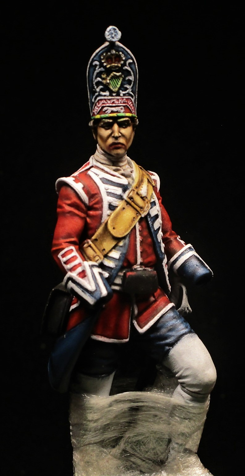 grenadier anglais du 18th Foot en 1751 Img_1112