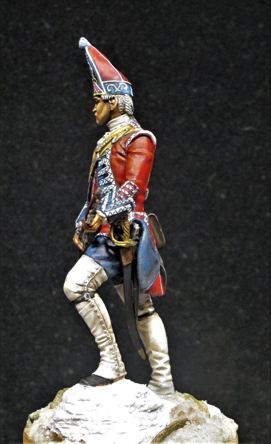 grenadier anglais du 18th Foot en 1751 Img_1210