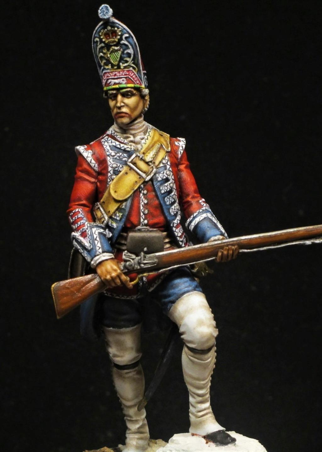 grenadier anglais du 18th Foot en 1751 Img_1211
