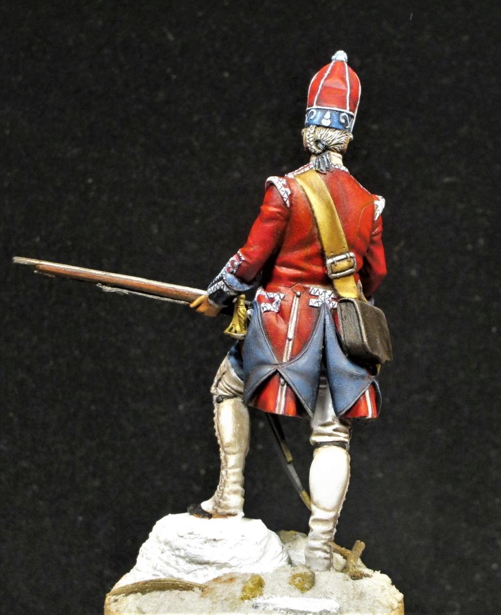 grenadier anglais du 18th Foot en 1751 Img_1212