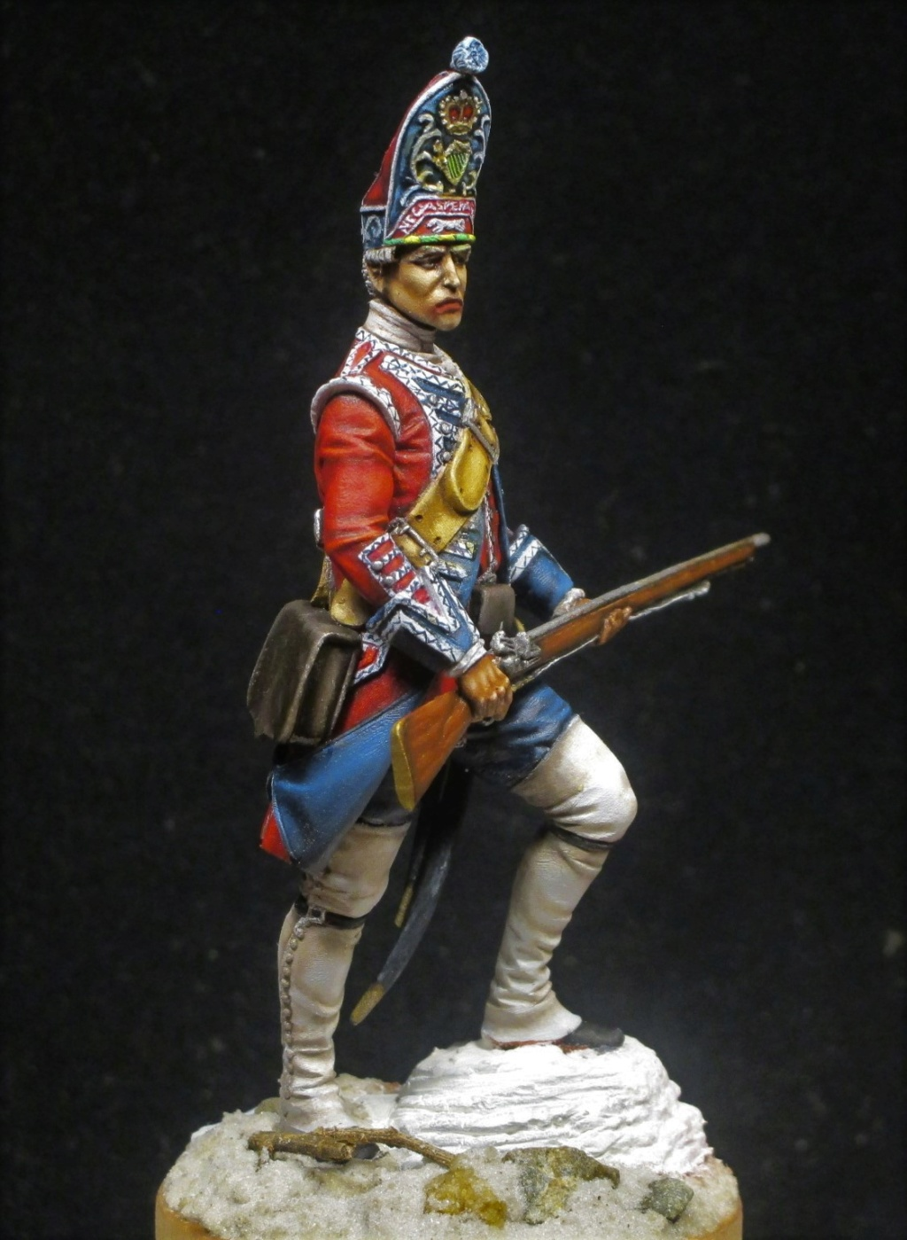 grenadier anglais du 18th Foot en 1751 Img_1213