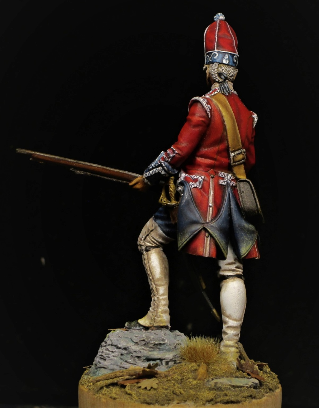 grenadier anglais du 18th Foot en 1751 - Page 2 Img_1224