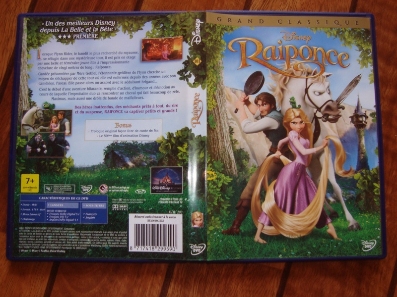 [BD + DVD]  Raiponce (1er Avril 2011) - Page 7 Dsc09713