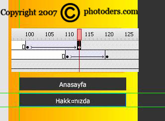 Flash Template Web Site Hazırlama 1011