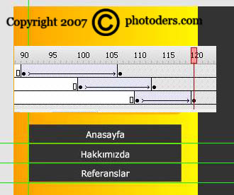 Flash Template Web Site Hazırlama 1110
