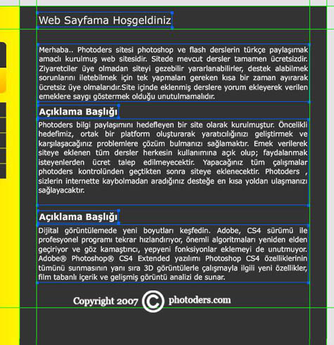 Flash Template Web Site Hazırlama 1510