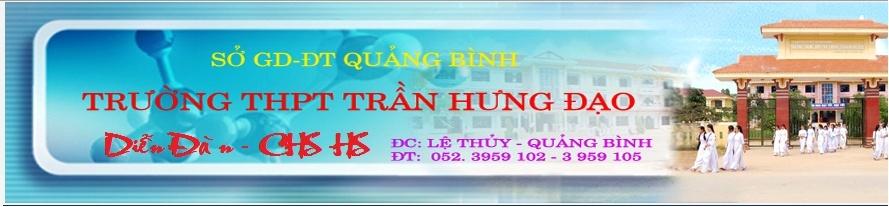 Diễn đàn Trường THPT Trần Hưng Đạo