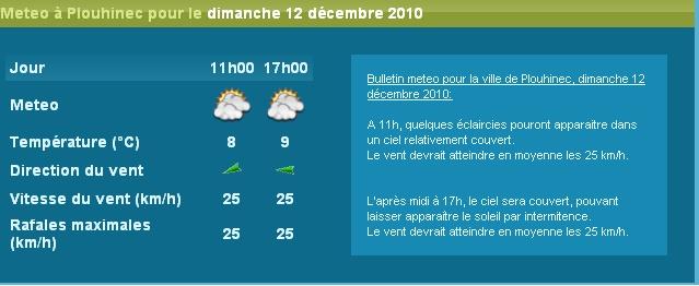 12 decembre : revanche sur la meteo !! Dimanc10