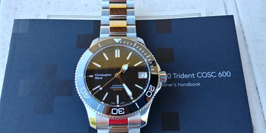 ward - La montre de plongée Christopher Ward C60 Trident COSC 600 mouvement SH21  20180820