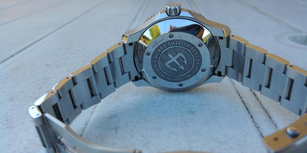 ward - La montre de plongée Christopher Ward C60 Trident COSC 600 mouvement SH21  20180822