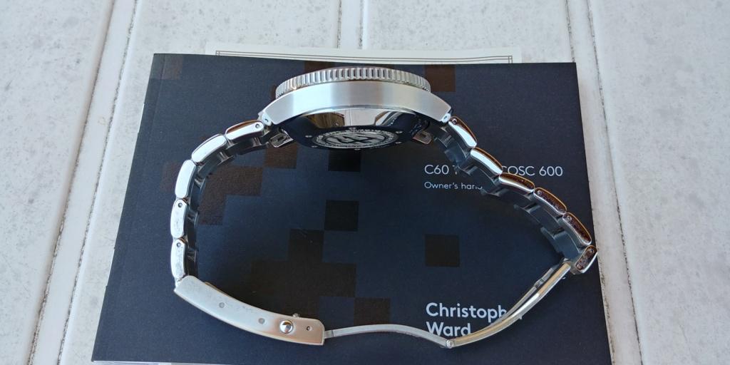ward - La montre de plongée Christopher Ward C60 Trident COSC 600 mouvement SH21  20180824