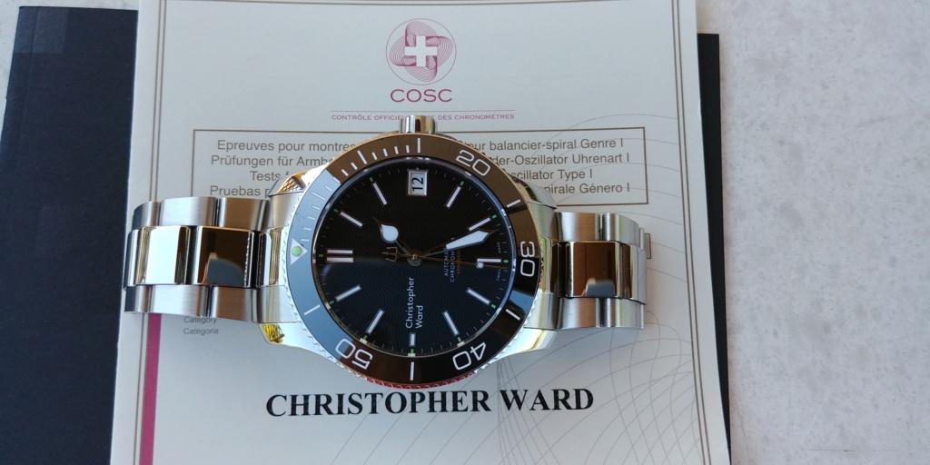 ward - La montre de plongée Christopher Ward C60 Trident COSC 600 mouvement SH21  20180825