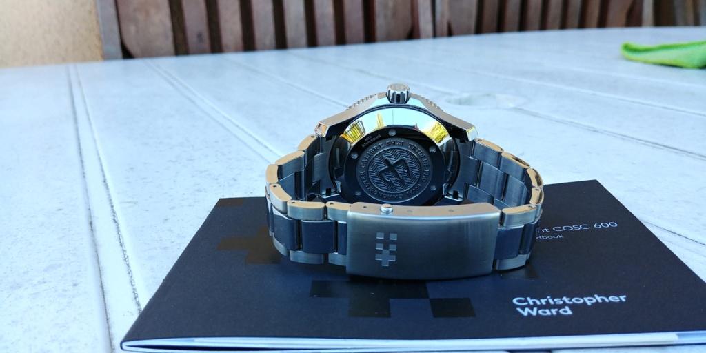 ward - La montre de plongée Christopher Ward C60 Trident COSC 600 mouvement SH21  20180831