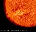 Registro de movimientos solares al día
