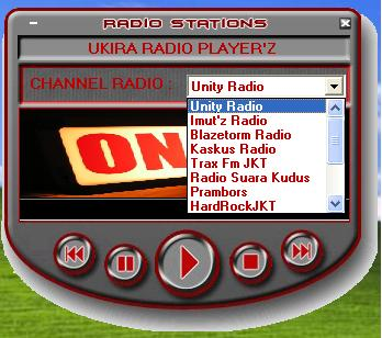 Ukira Radio Player'z Penamp10