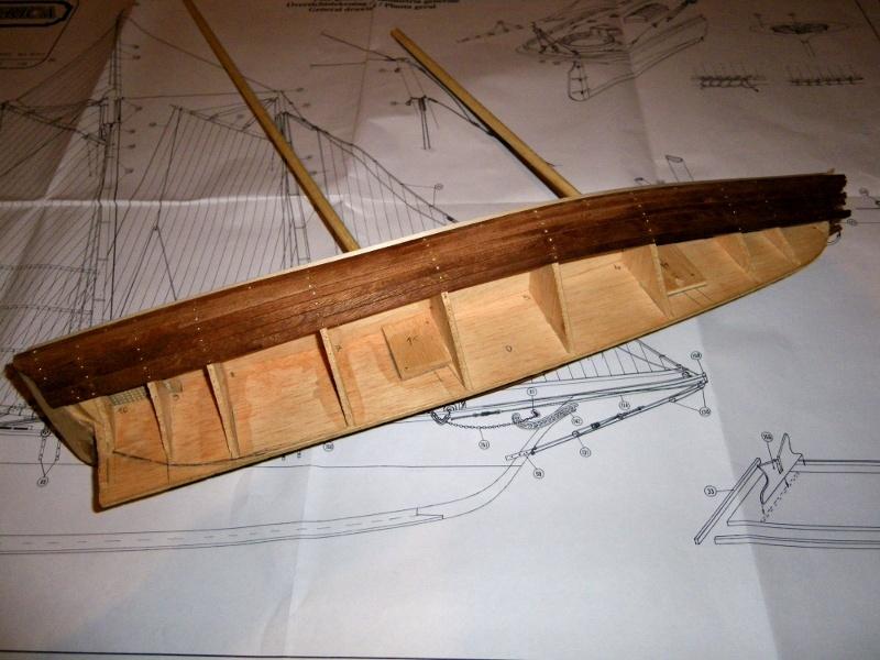 Goélette America 1831 au 1/56ème - Constructo  00310