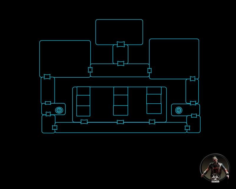 Mapa Raccoon Hospital 2a_and12