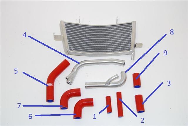 RSV4 Tecnica (Impianto di raffreddamento) Stock510
